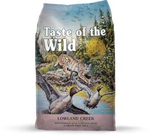 Taste Of The Wild Lowland Creek Dry Cat Food With Roasted Quail & Duck 6.35kg