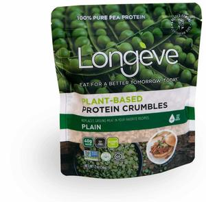 Longeve Vegan Prot Crumbles 170g