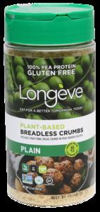Longeve Breadless Crumb Plain 128g