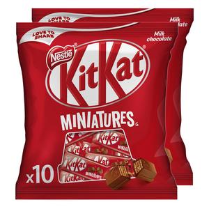 Nestle KitKat Crispy Wafer Finger Covered With Milk Chocolate 2x110g