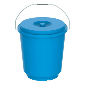 Cosmoplast Bucket With Lid 1pc