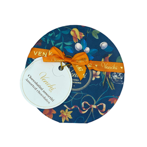 Venchi Assorted Chocolate In Small Blue Gift Box Gluten Free 1pc