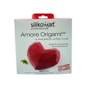 Professional Amore Origami Silicone Mold 1pc
