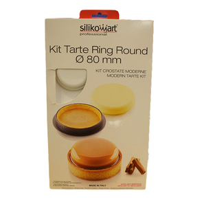 Professional Mini Tart Ring With Mould 6cavs