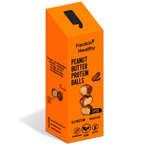 Freakin' Healthy Peanut Butter Protein Balls 60g