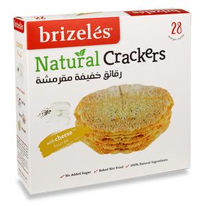 Brizeles Cheese Gourmet Savoury Cracker 104g