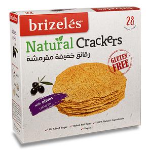 Brizeles Olives Gluten Free Gourmet Savoury Cracker 105g