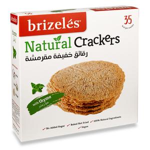 Brizeles Thyme Gluten Free Gourmet Savoury Cracker 120g