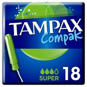 Tampax Compak Super 127g
