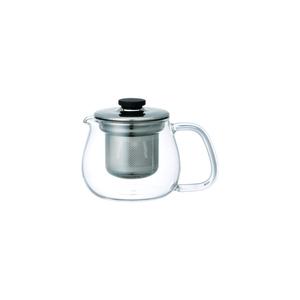 Kinto Unitea Small Stainless Steel Teapot Set 1set