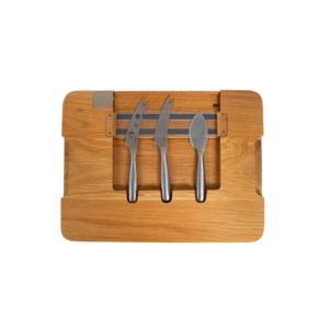 Boska Life Party Cheese Board With 3 Knives 1set