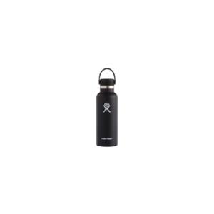 Hydroflask Vacuum Bottle Black Std Mouth 530ml