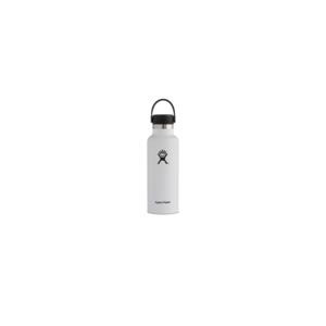 Hydroflask Vacuum Bottle White Std Mouth 530ml