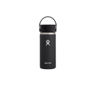 Hydroflask Vacuum Bottle Black Std Mouth 620ml