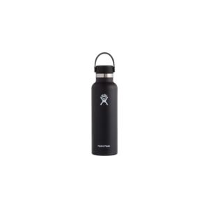 Hydroflask Vacuum Bottle Black Wd Mouth 590ml