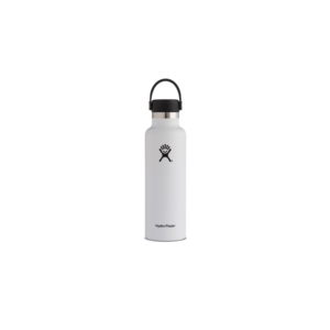 Hydroflask Vacuum Bottle White Wd Mouth 590ml