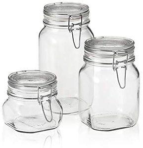Bormioli Rocco Fido Clip Jar 1pc