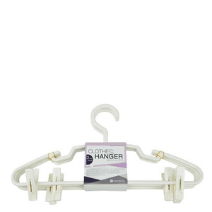 Pioneer Clothes Hanger With Clip 1pkt
