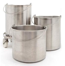 Welltex Round Bucket With Rope 1pc