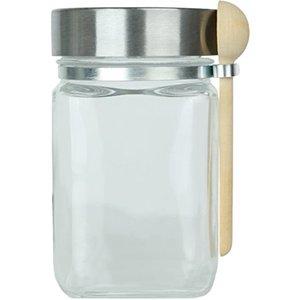 Pioneer Storage Jar With Locker & Spoon 1pc
