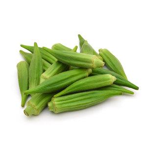 Okra Green Organic UAE 500g pkt