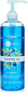 Cosmo Temptation Blueberry Shower Gel 1L