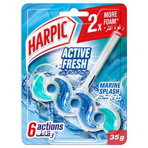 Harpic Marine Splash Toilet Block 35g