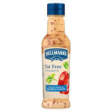 Hellmann's Vinaigrette Fat Free Salad Dressing 210ml