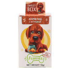 Sweet Box Jelly Beans Fluffies Dog 10g