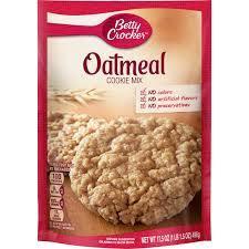 Betty Crocker Oatmeal Cookie Cake Mix 496g