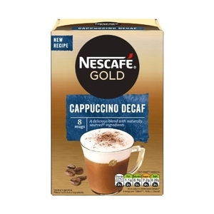Nescafe Gold Cappuccino Decaf 8 sachets