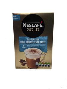Nescafe Gold Cappuccino Unsweetened Taste 8 sachets