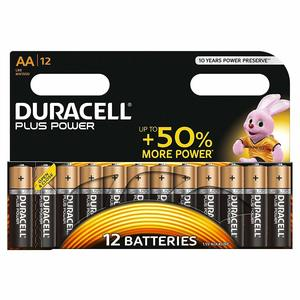 Duracell Plus Aaa15+5 1X10 1pc