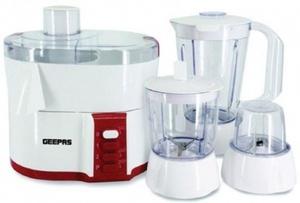 Geepas 4In1 Food Processor 1pc