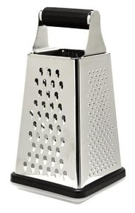 Fackelmann 2Side Grater With Rubber Handle 1pc