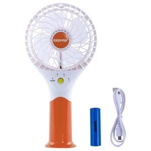 Geepas Rech Portable Mini Fan 3 Speed 1pc