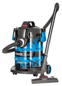 Bissell Powerclean Drum Vacuum 21L 1pc