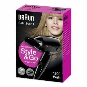 Braun Hair Dryer Travel 1200W 1pc