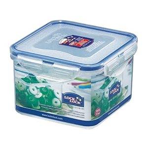 Lock & Lock Food Container 860Ml Square 1pc