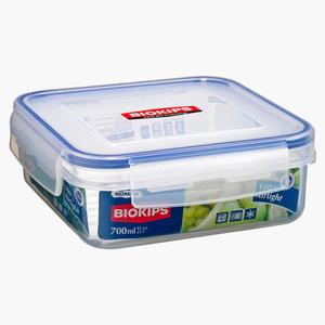 Biokips Square Food Saver With Separator 1pc