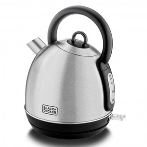 Black & Decker 1.7L Stainless Steel Kettle Dome 1pc