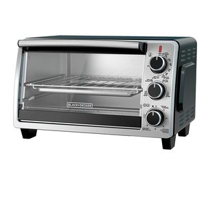 Black & Decker 66Lt Toaster Oven With Double Glass 1pc