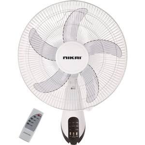 Nikai Wall Fan With Remote 1pc