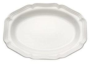 Moda Cucina Oval Serving Platter Large White 1pc