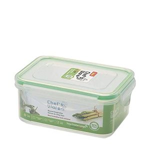 Chef's Ware Microwave Steamer Rectangle 580Ml 1pc