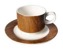 Shallow Tea Cup&Saucer 1pc