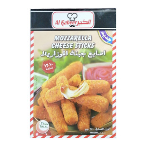 Al Kabeer Mozzarella Cheese Sticks 250g