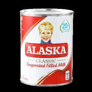 Alaska Evaporated Filled Milk 154ml
