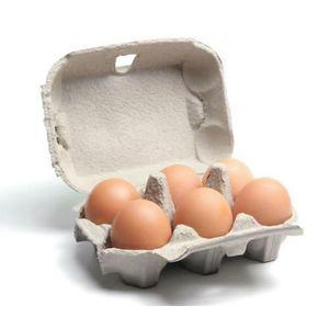 Alif Brown Eggs 6pcs
