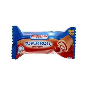 Americana Cakes Super Roll Strawberry 60g